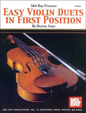 Easy Violin Duets in First Position 93885   upc 796279004558