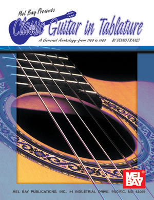 Classic Guitar in Tablature 94098   upc 796279006262