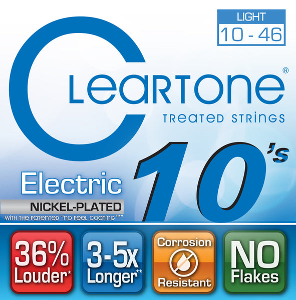 Cleartone string electric 10-46 Ultralight 9410   upc 786136094105