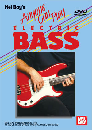 Anyone Can Play Electic Bass   upc 796279084062