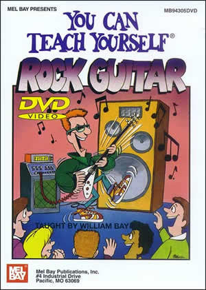 You Can Teach Yourself Rock Guitar 94305DVD   upc 796279084239