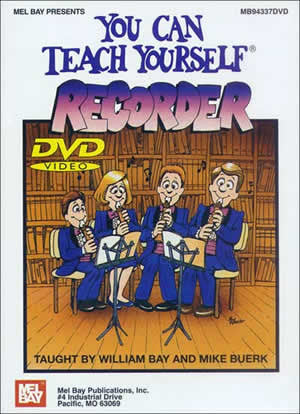 You Can Teach Yourself Recorder 94337DVD   upc 796279087384