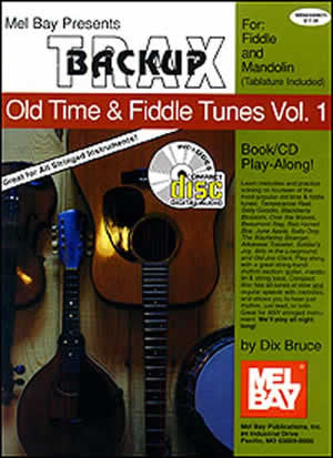 Backup Trax/Old Time & Fiddle Tunes for Fdl & Mandolin   upc 796279035859