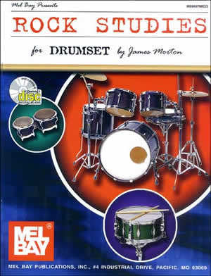 Rock Studies For Drumset 94379BCD   upc