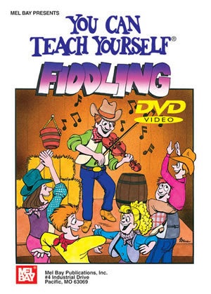 You Can Teach Yourself Fiddling 94717DVD   upc 796279084345