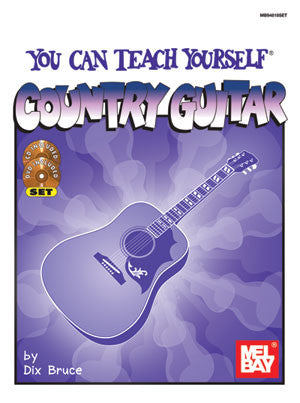You Can Teach Yourself Country Guitar 94818SET   upc 796279031295