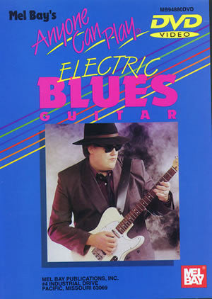 Anyone Can Play Electric Blues Guitar   upc 796279096836