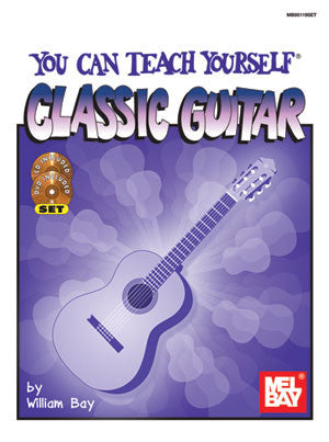You Can Teach Yourself Classic Guitar 95119SET   upc 796279053723