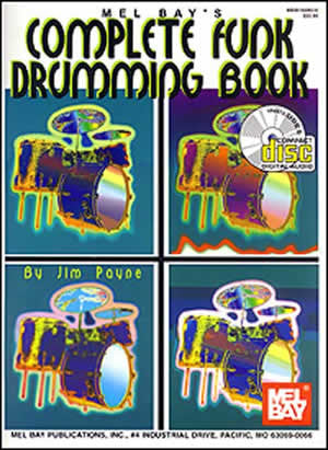 Complete Funk Drumming Book 95164BCD   upc 796279042703