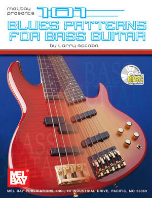 101 Blues Patterns for Bass Guitar 95330BCD   upc 796279039994
