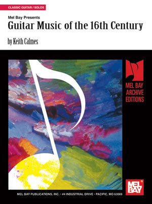 Guitar Music of the 16th Century 95375   upc