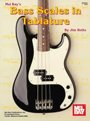 Bass Scales in Tablature 95604   upc 796279030113