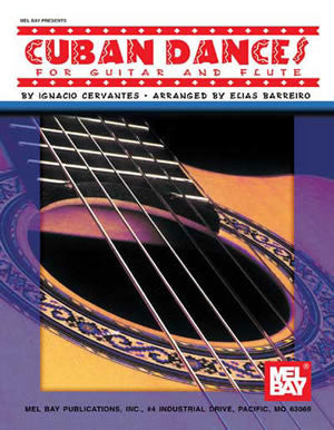 Cuban Dances for Guitar and Flute 95706   upc 796279038126