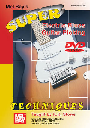 Super Electric Blues Guitar Picking Techniques 96001DVD   upc 796279100694