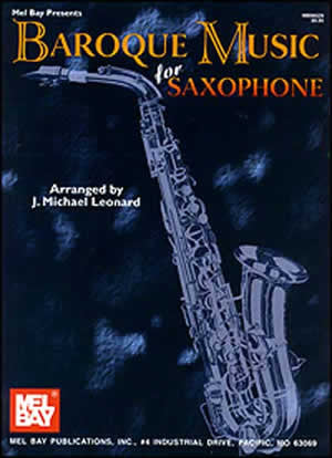 Baroque Music for Saxophone 96529   upc 796279049474
