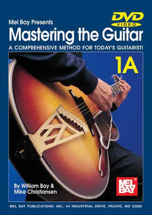 Mastering the Guitar 1A Book/2-CD/DVD Set 96620SET   upc 796279090346