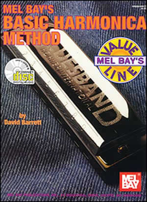 Basic Harmonica Method 96699BCD   upc 796279043182