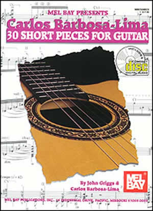 Carlos Barbosa-Lima: 30 Short Pieces for Guitar 97038BCD   upc 796279049641