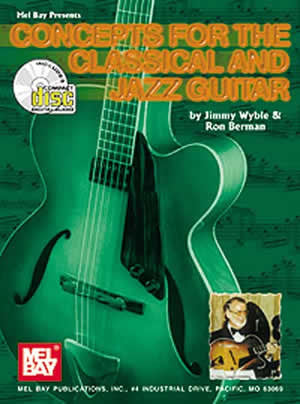 Concepts for the Classical and Jazz Guitar 97208BCD   upc 796279058377