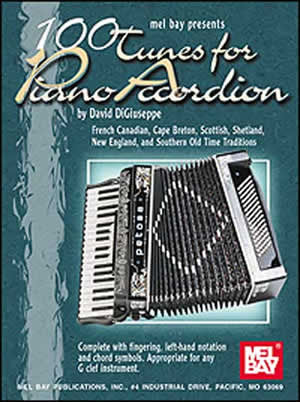 100 Tunes for Piano Accordion 97210   upc 796279062350
