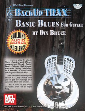 Backup Trax: Basic Blues for Guitar 97224BCD   upc 796279105545
