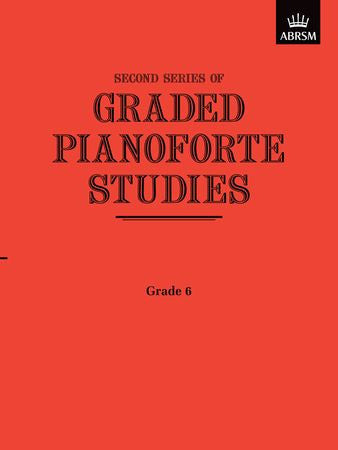 Graded Pianoforte Studies, Second Series, Grade 6  9781854720771   upc 9781854720771