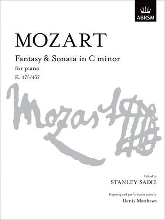 Fantasy & Sonata in C minor, K 475/457  9781854721631   upc 9781854721631