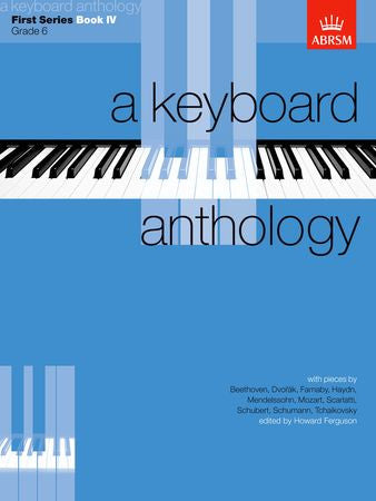 A Keyboard Anthology, First Series, Book IV  9781854721761   upc 9781854721761