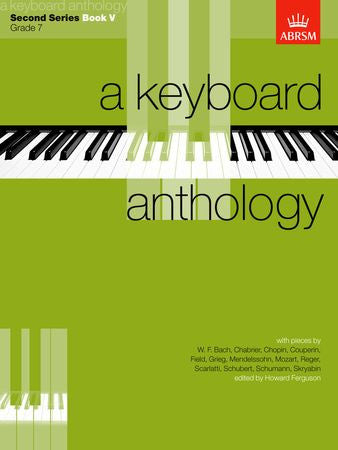 A Keyboard Anthology, Second Series, Book V  9781854721877   upc 9781854721877