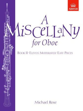 A Miscellany for Oboe, Book II  9781854724991   upc 9781854724991