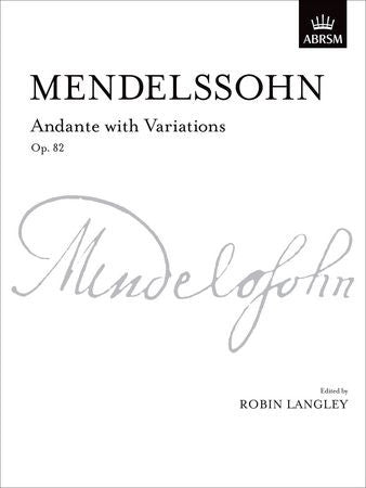 Andante with Variations, Op. 82  9781854727763   upc 9781854727763