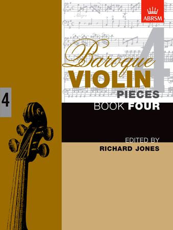 Baroque Violin Pieces, Book 4  9781854728319   upc 9781854728319