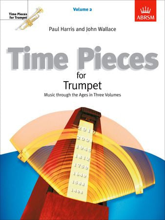 Time Pieces for Trumpet, Volume 2  9781854728647   upc 9781854728647