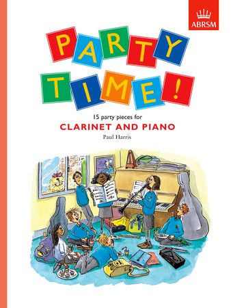 Party Time! 15 party pieces for clarinet and piano  9781854729217   upc 9781854729217