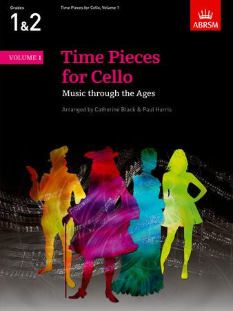 Time Pieces for Cello, Volume 1  9781854729484   upc 9781854729484
