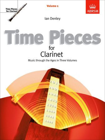 Time Pieces for Clarinet, Volume 1  9781860960451   upc 9781860960451