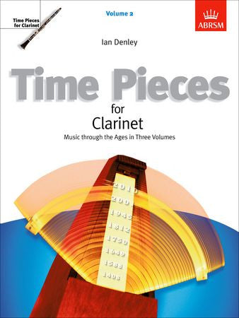Time Pieces for Clarinet, Volume 2  9781860960468   upc 9781860960468