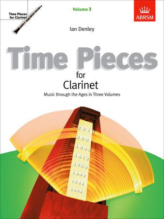 Time Pieces for Clarinet, Volume 3  9781860960475   upc 9781860960475