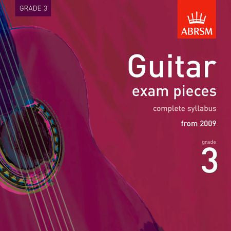 Guitar exam pieces, complete syllabus from 2009, Grade 3  9781860969522   upc 9781860969522