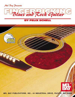 Fingerpicking Blues and Rock Guitar 97821BCD   upc 796279058537