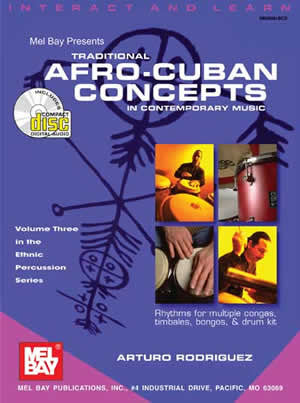 Traditional Afro-Cuban Concepts in Contemporary Music 98081BCD   upc 796279061322