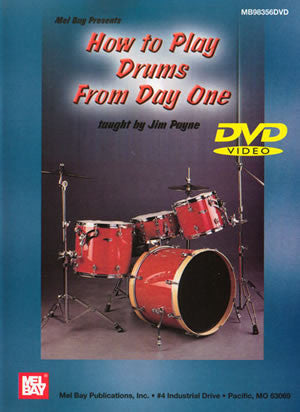How to Play Drums from Day One 98356DVD   upc 796279084550