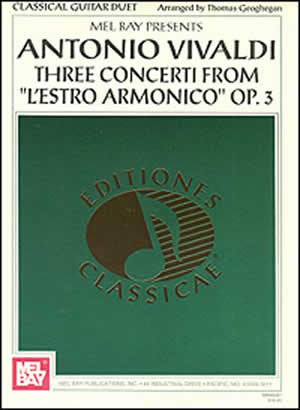Antonio Vivaldi: Three Concerti from L'estro Armonico Op. 3   upc 796279064019