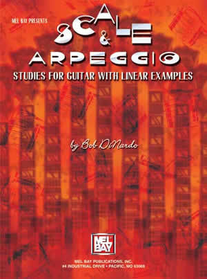 Scale & Arpeggio Studies for Guitar with Linear Examples 98406   upc 796279064071