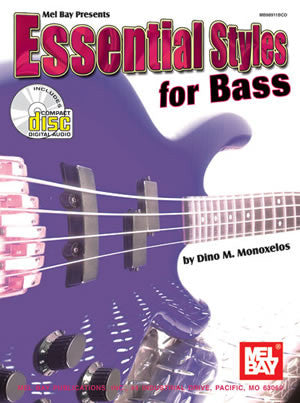 Essential Styles for Bass 98911BCD   upc 796279071611