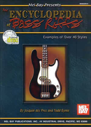 Encyclopedia of Bass Riffs 98920BCD   upc 796279071208