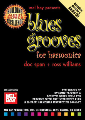 Blues Grooves for Harmonica 98951CDBEB   upc 796279072953