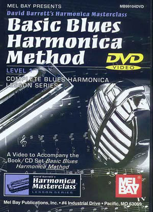 Basic Blues Harmonica Method, Level 1   upc 796279084581