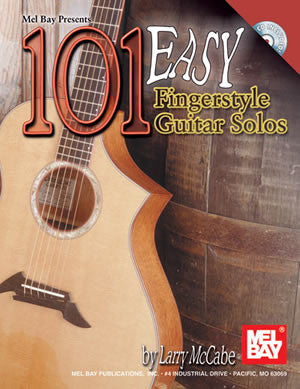101 Easy Fingerstyle Guitar Solos   upc