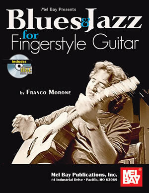 Blues & Jazz for Fingerstyle Guitar 99397BCD   upc 796279076760